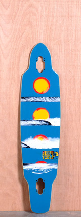 "Sector 9 39"" Horizon Longboard Deck - Blue"