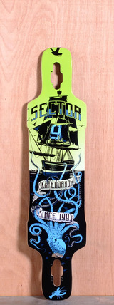 "Sector 9 41.8"" Dropper Longboard Deck - Blue"