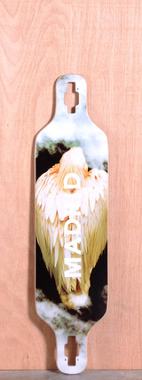 "Madrid 39"" Bird Longboard Deck - Drop Through"