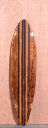"Globe 41"" Pinner Longboard Deck - Black/Orange"