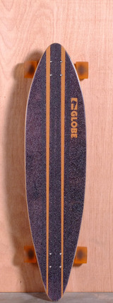"Globe 41"" Pinner Longboard Complete - Black/Orange"