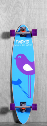 "Madrid 39"" Bird Longboard Complete"