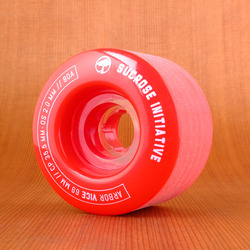 Arbor Vice 69mm 80a Wheels - Red