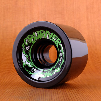 Gravity Burner 66mm 78a Wheels - Black