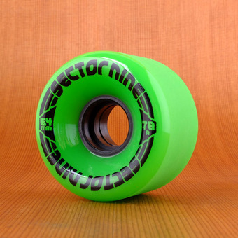 Sector 9 Nineball 64mm 78a Wheels - Green