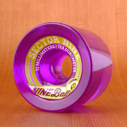 Sector 9 Top Shelf 72mm 78a Wheels - Purple