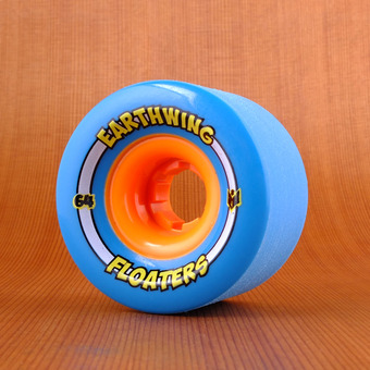 Earthwing Mini Floaters 64mm 81a Wheels - Blue