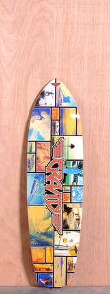 "Gravity 36"" Encinitas Cruiser Longboard Deck"