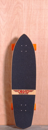 "Gravity 36"" Moonlight Cruiser Longboard Complete"