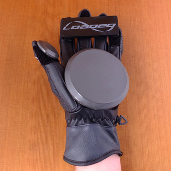 Loaded Leather Races Gloves
