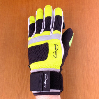 Loaded Freeride Slide Gloves - Yellow