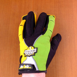 Sector 9 Rally Junior Slide Gloves - Green