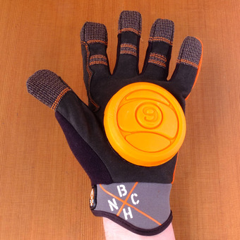 Sector 9 BHNC Slide Gloves - Orange