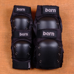 Bern Adult Pad Set - Black