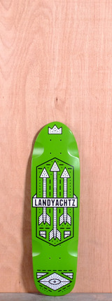 "Landyachtz 28.5"" Dinghy Longboard Deck - Arrows"