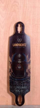 "Landyachtz 38.5"" Drop Speed Longboard Deck"