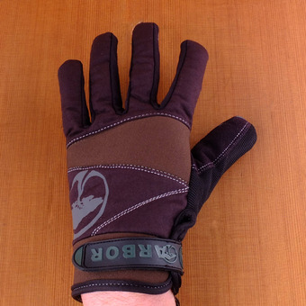 Arbor Signature Slide Gloves - Black / Brown