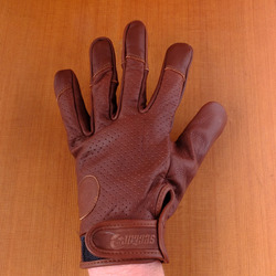 Sector 9 Driver Slide Gloves - Brown
