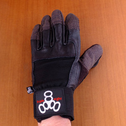Triple 8 Sliders Longboard Gloves