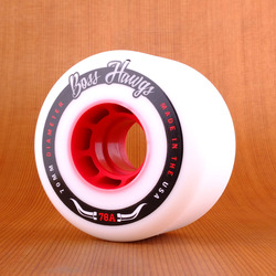 Hawgs Boss 70mm 78a Wheels - Red Core