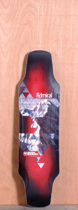 "Never Summer 37"" Admiral Longboard Deck"
