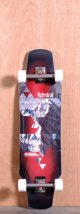 "Never Summer 37"" Admiral Longboard Complete"