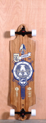 "Arbor 38"" Cypher Longboard Complete"