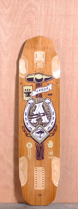 "Arbor 40.5"" Backlash Longboard Deck"