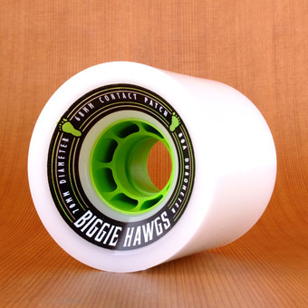 Hawgs Biggie 70mm 80a Wheels - White