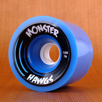 Hawgs Monster 76mm 78a Wheels - Blue