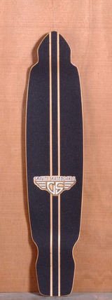 "Gravity 43"" Drop Kick Longboard Deck - Arbol Y Mar"