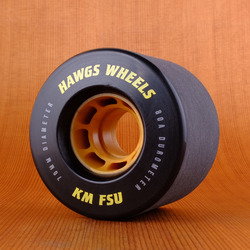 Hawgs KM FSU 70mm 80a Wheels - Black