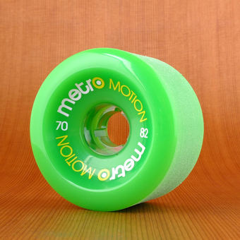 Metro Motion 70mm 82a Wheels - Green