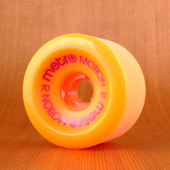 Metro Motion 70mm 82a Wheels - Orange