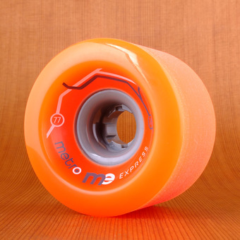 Metro Express 77mm 78a Wheels - Orange