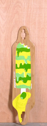 "Madrid 38.375"" Popsicle Longboard Deck - Bamboo"