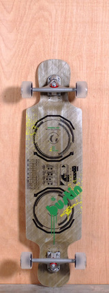 "Bustin 38"" Boombox Longboard Complete"