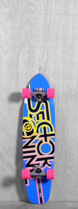 "Sector 9 31"" The Wedge Longboard Complete - Blue"