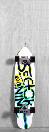 "Sector 9 31"" The Wedge Longboard Complete - White"