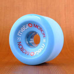 Metro Motion 70mm 80a Wheels - Blue