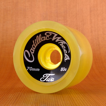 Cadillac Classic Two 70mm 80a Wheels - Yellow
