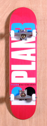 "Plan B Team OG 7.6"" Skateboard Complete"
