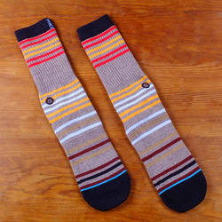 Stance Earnest Socks - Grey Heather
