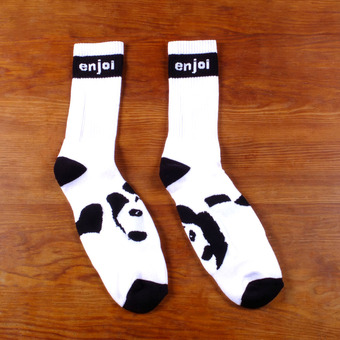Enjoi Panda Feet Socks - White