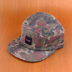 Globe Greenland 5 Panel Hat - Camo