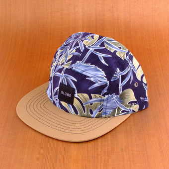Globe Greenland 5 Panel Hat - Hawaiian