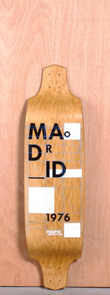 "Madrid 37.25"" Grid Longboard Deck"