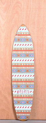 "Madrid 38.75"" Native Longboard Deck"