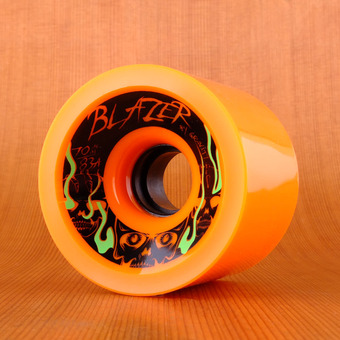 Gravity Blazers 70mm 83a Wheels - Orange