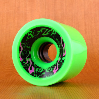 Gravity Blazers 70mm 77a Wheels - Green